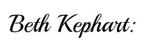 Beth Kephart Name