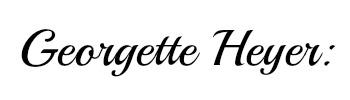 Georgette Heyer name