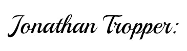 Jonathan Tropper name