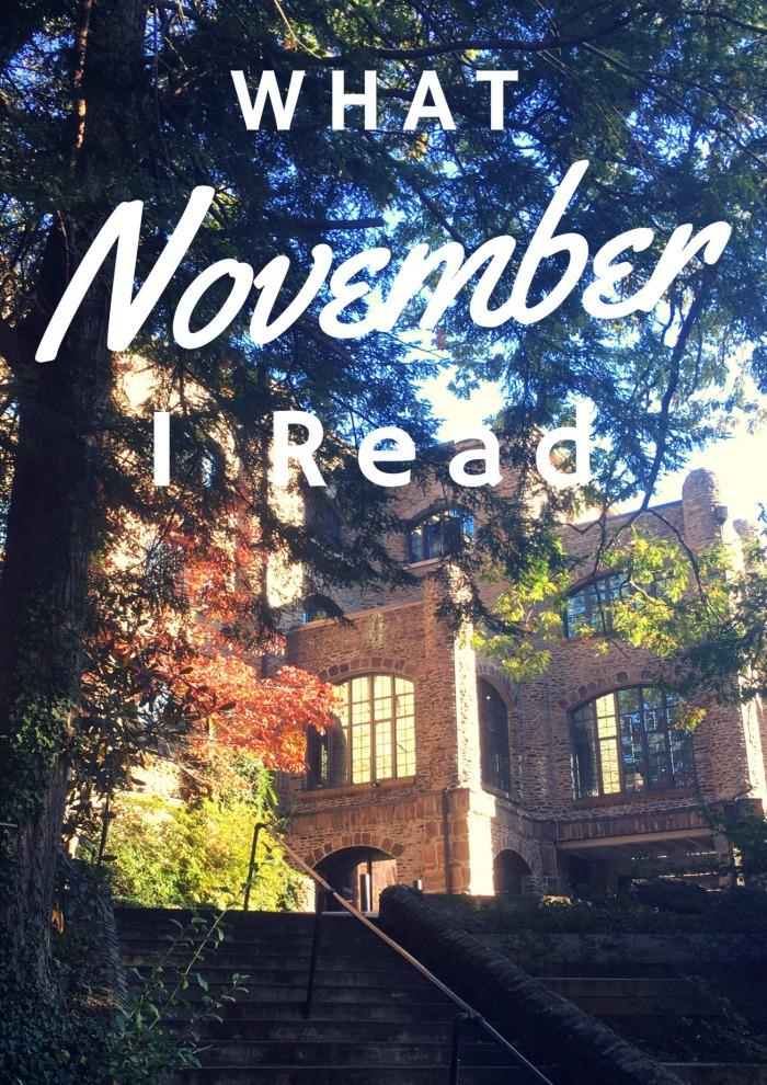 What I Read November 2016