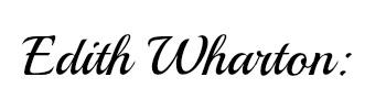 edith wharton name