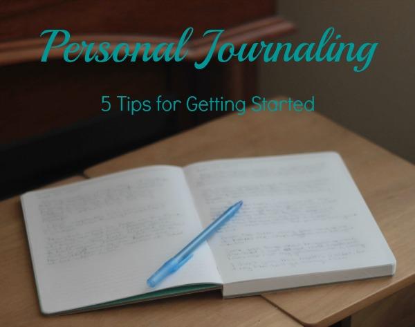 personal journaling 2